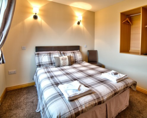 Double Bedroom with ensuite shower/toilet
