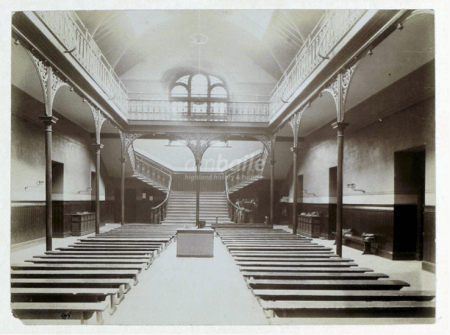 Central Assembly Hall in the early 20th Century.