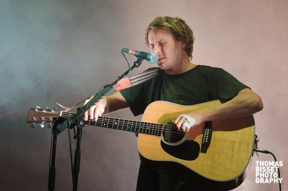Ben Howard performs at RockNess 2013