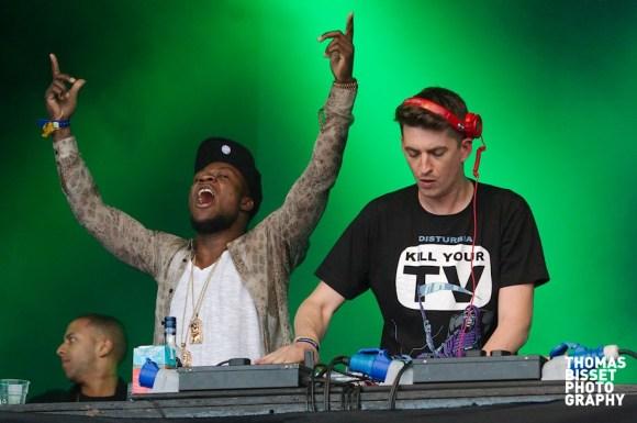 Skream and Benga perform at RockNess 2013