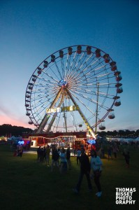 Ferris Wheel at Rockness 2013