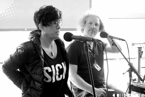 Radio GoNorth- Allison Shaw & Olaf (Public Enemy Branding)