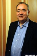 Alex Salmond - Inverness Gigs were the only media oulet to catch a photo of the First minister on the night