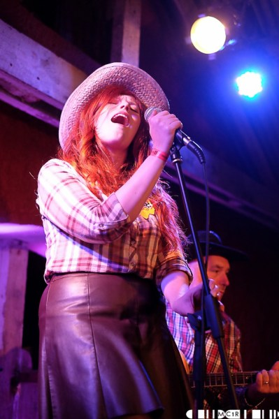 Meeshelle was another act that took the western theme and ran with it