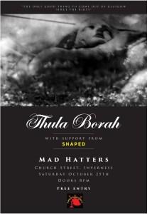 Thula Borah Mad Hatters poster