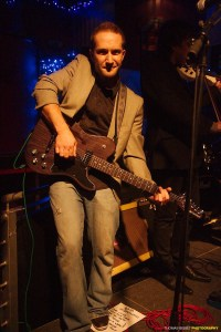 Fraser Maclean in former band The Whisky River Band in 2012