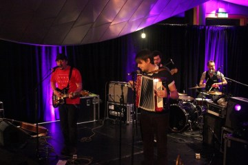 Withered Hand, special guest at Holyrood Rocks Final 31/10/2015