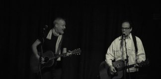 Chris Barron, with support from Lach, at Mad Hatters, Inverness on the 8th of November, 2016.