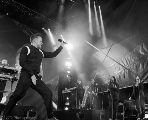 Olly Murs at Bught Park, Inverness on the 22nd of July 2017