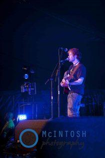 Ed Sheeran Belladrum, Inverness 2011 21