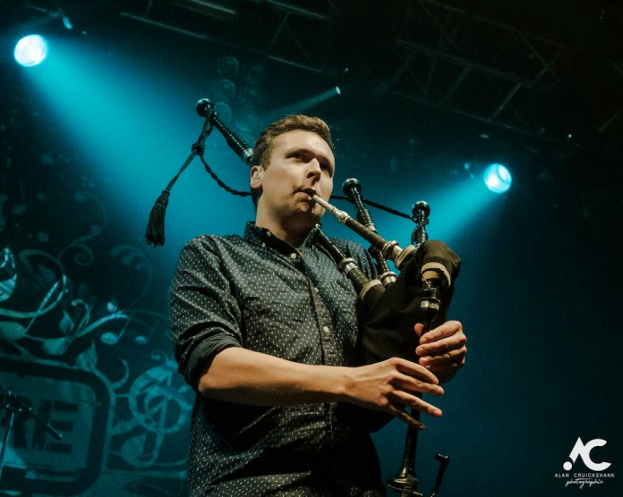 Skerryvore with City Of Inverness Pipe Band and Runrigs Iain Bayne December 2018 Ironworks Inverness November 2018 4a - Skerryvore, 7/12/2018 - Images