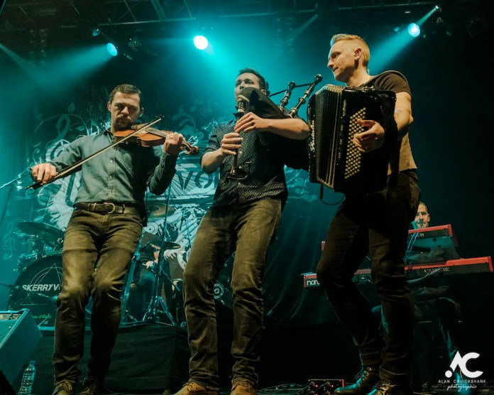 Skerryvore with City Of Inverness Pipe Band and Runrigs Iain Bayne December 2018 Ironworks Inverness November 2018 5a - Skerryvore, 7/12/2018 - Images