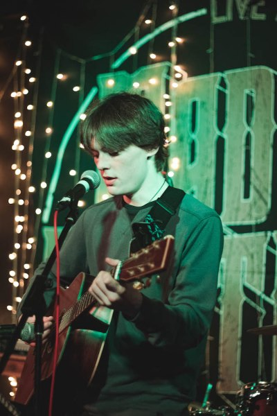 JAMES BURTON 3 - North Highland College Music Showcase, 17/1/2019 - Images