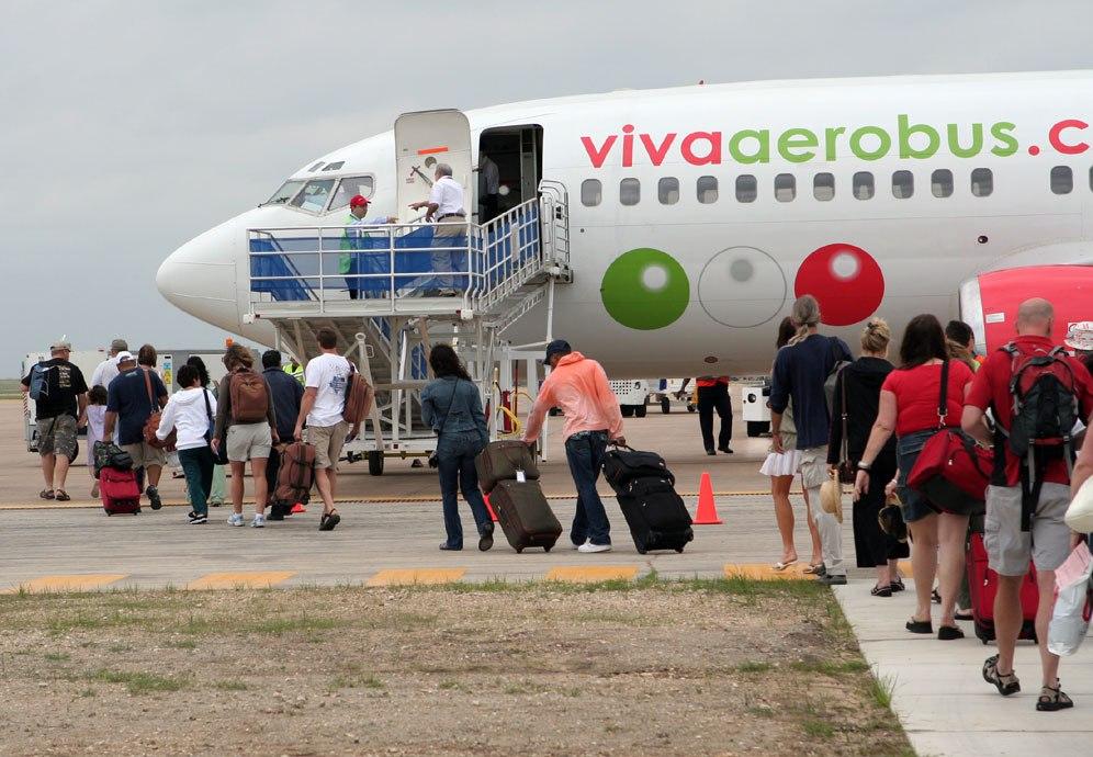 Viva Aerobus tiene nuevas rutas internacionales: Cancún – Cincinnati, Cancún - Charlotte y Cancún - Nashville