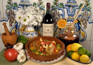 Columbia chicken and yellow rice Valenciana