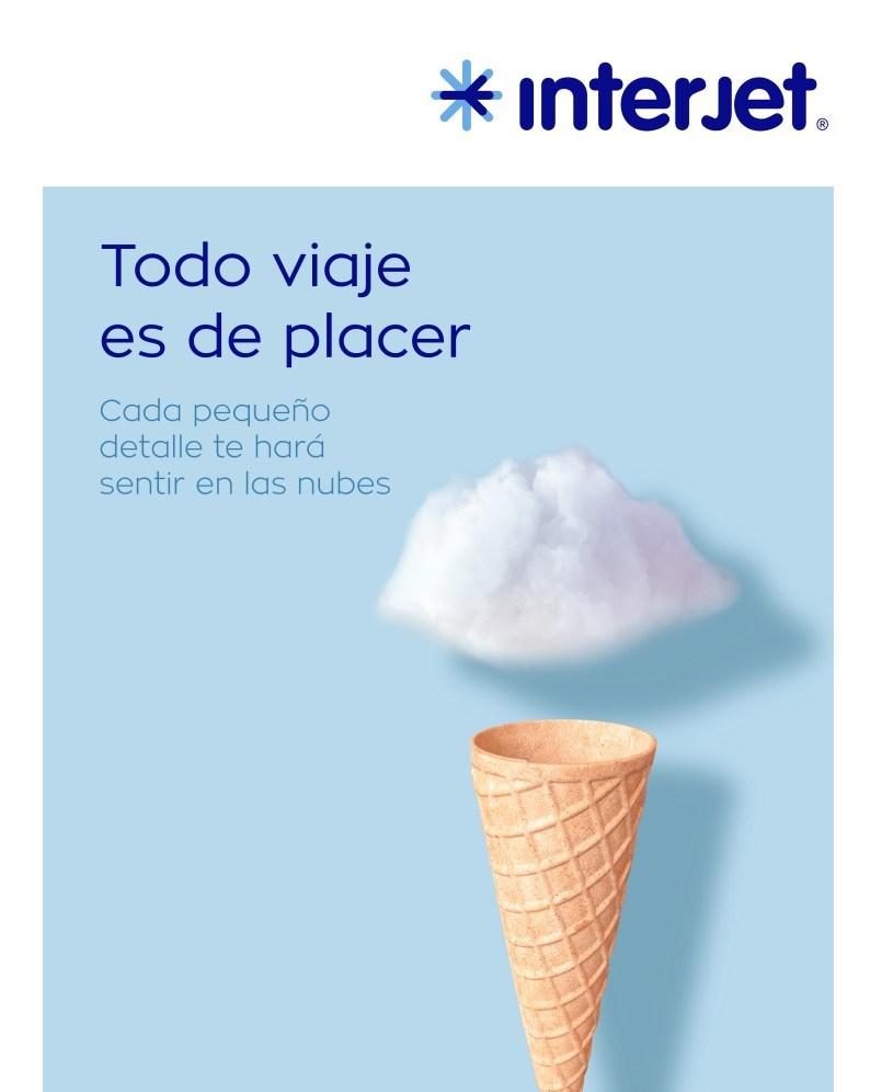 """Interjet busca reposicionarse con nueva campaña; deja de ser """"low cost"""", asegura"""