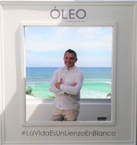 Martín Rodríguez, gerente General de Óleo Cancun Playa