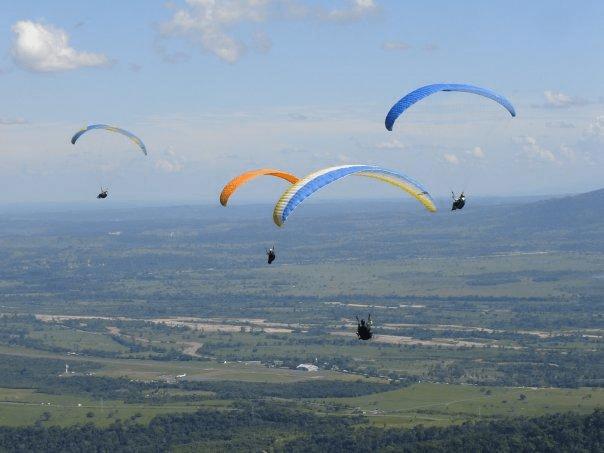 Inicia la 15ª edición del Monarca Paragliding Open 2019