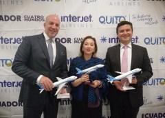 Interjet va por el mercado ecuatoriano; abre segunda ruta