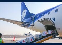 Aeroméxico se suma a esfuerzos de la Cruz Roja Mexicana