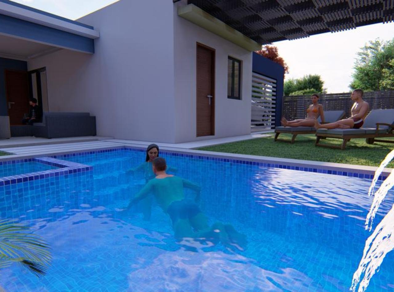 Hermosa Casa con Piscina, Carrera Tamboril