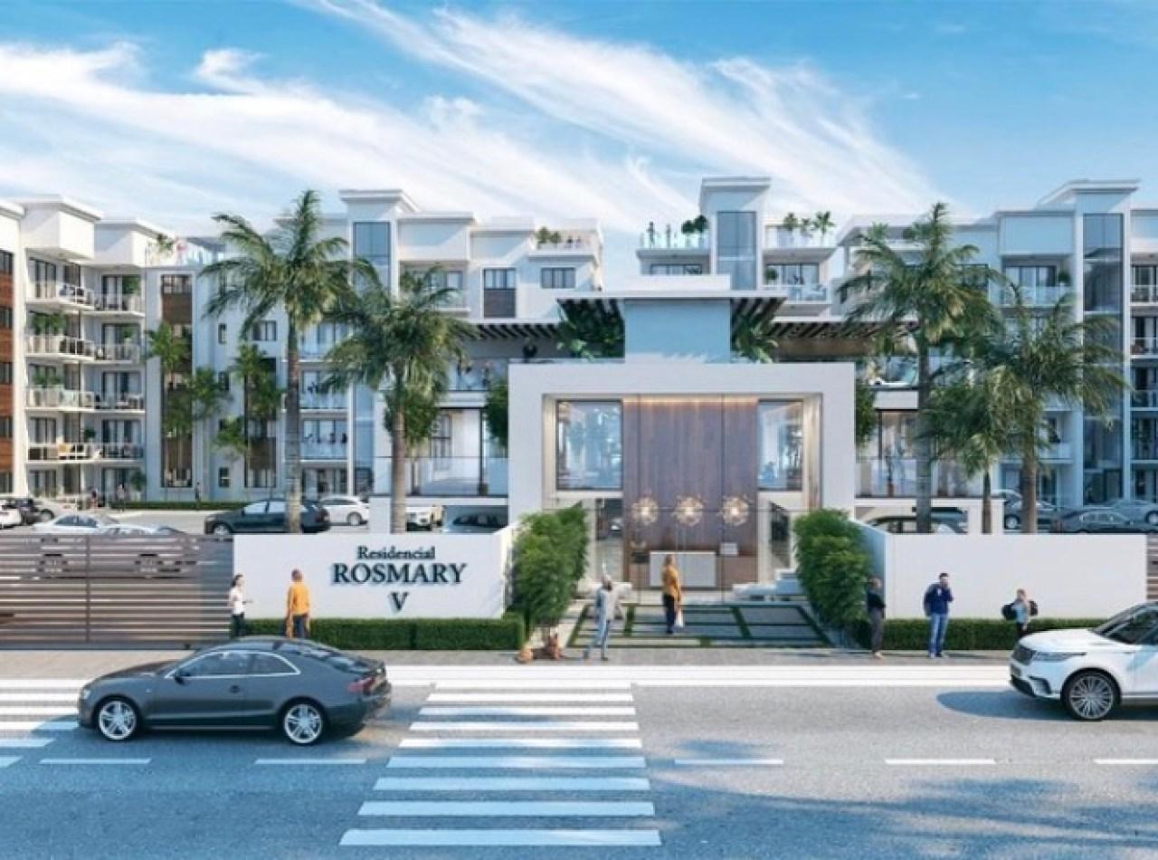 ROSMARY V, Precioso Proyecto de Apartamentos, Los Alamos, Santiago