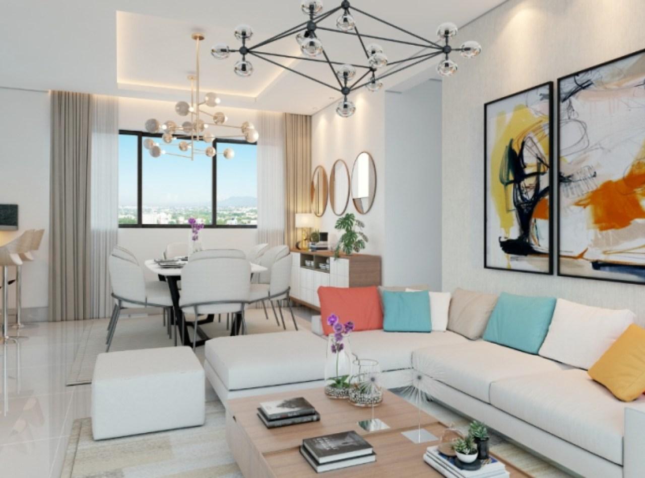 Residencial Tapioles Exclusivo Apartamento 152 Mts2 con Azotea
