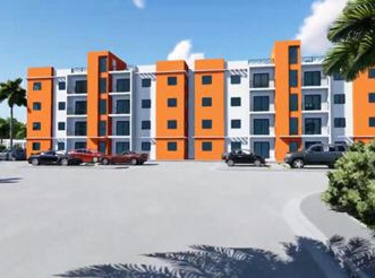 Proyecto de Apartamentos con Piscina, Res. Los Naranjos I, Gurabo
