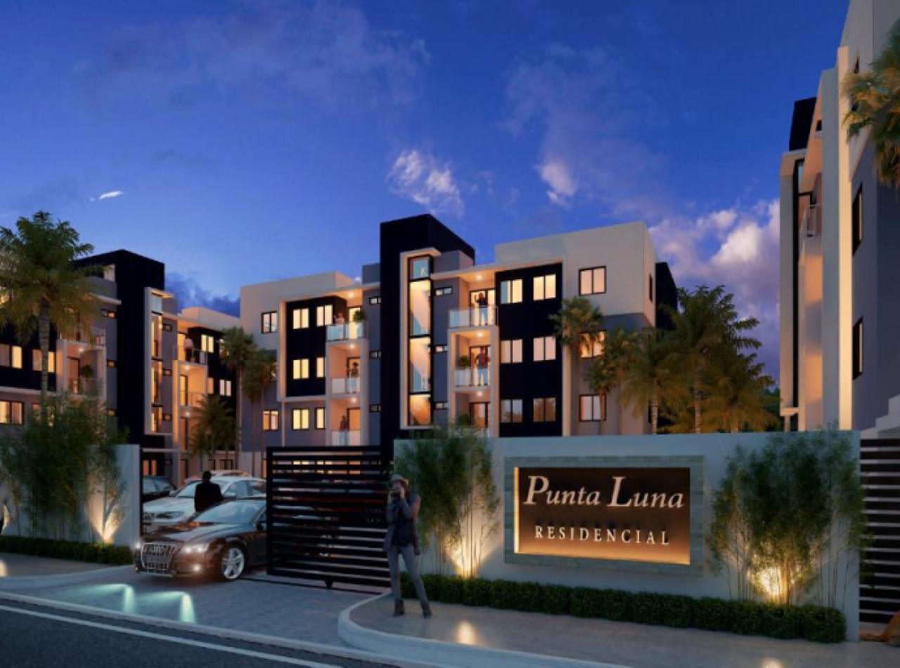 Residencial Punta Luna, Apartamentos en Urbanizacion Thomen, Santiago