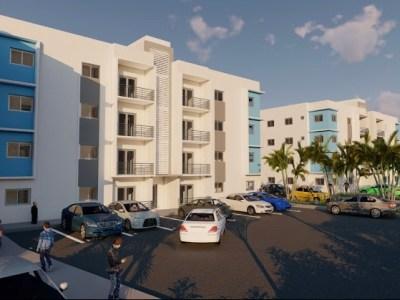 Hermosos Apartamentos con Piscina, 89 Mts2 , Gurabo