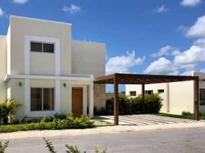 Villas de 2 Niveles y 3 Habitaciones en Proyecto Cerrado con Piscina
