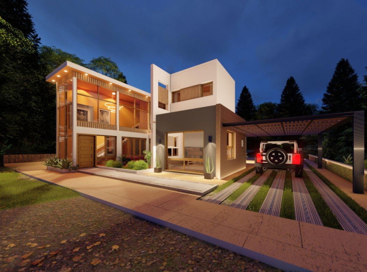 Villas de Alta Gama con 4 Habitaciones y Fino Diseño, Jarabacoa