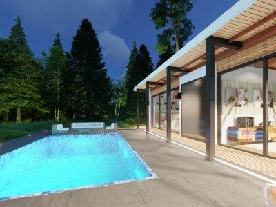 Proyecto Exclusivo de 10 Villas Ecológicas de 3 Habitaciones