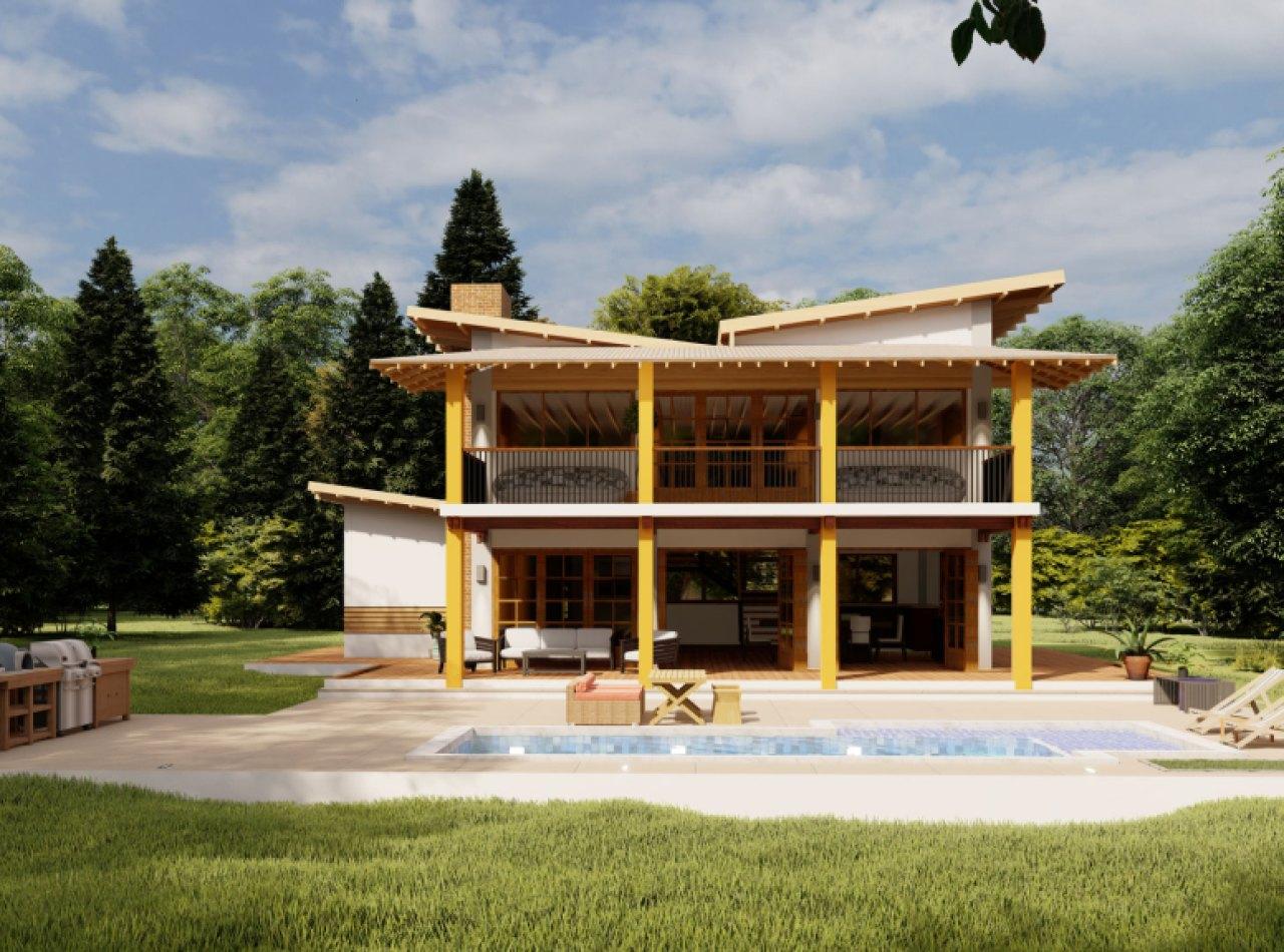 Villa Estilo Campestre de 2 Niveles en Exquisito Proyecto