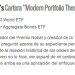 Amundi Index Equity World y Cartera Boglehead