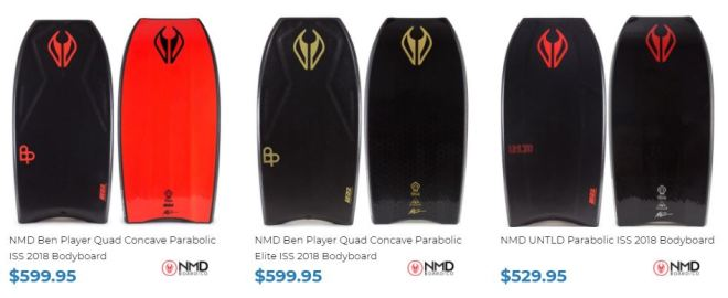 Quad Concave Bodyboards for sale at Inverted Bodyboard Shop