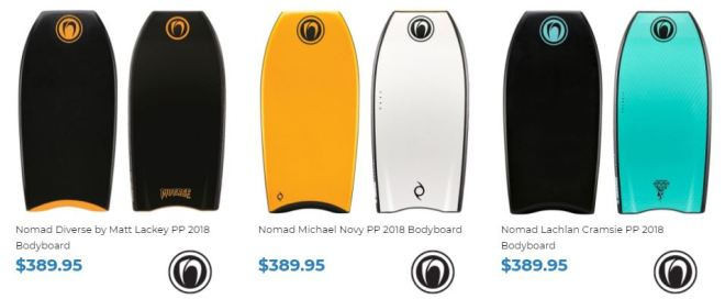 Shop Nomad Bodyboards at Inverted