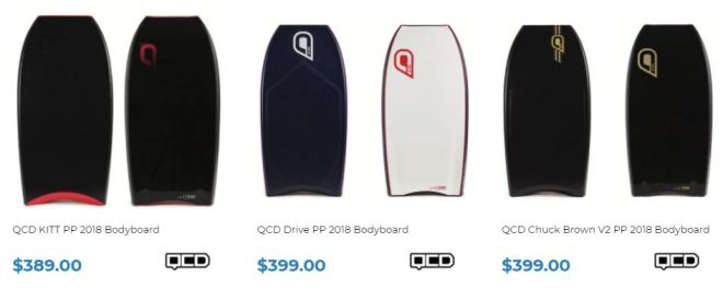 Shop QCD Bodyboards at Inverted