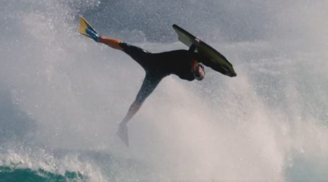 Mitch Rawlins AIR Bodyboarding Inverted