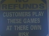 Where own risk?