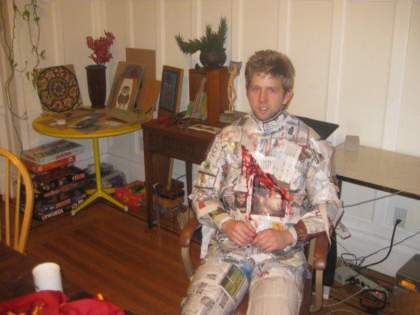 death of print costume