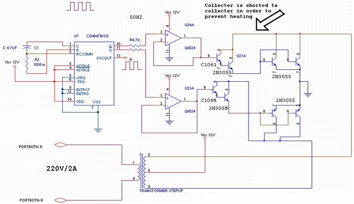 Schematics Diagram 400w Mosfet Amplifier