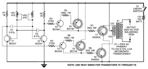 Simple Inverter for Soldering Iron