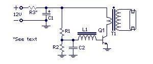 Inverter circuit for 40W fluorescent lamp