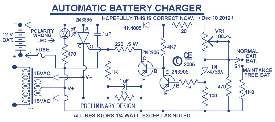 Car Battery Charger Based SCR 2N3896 - Inverter Circuit and ProductsInverter Circuit Diagram