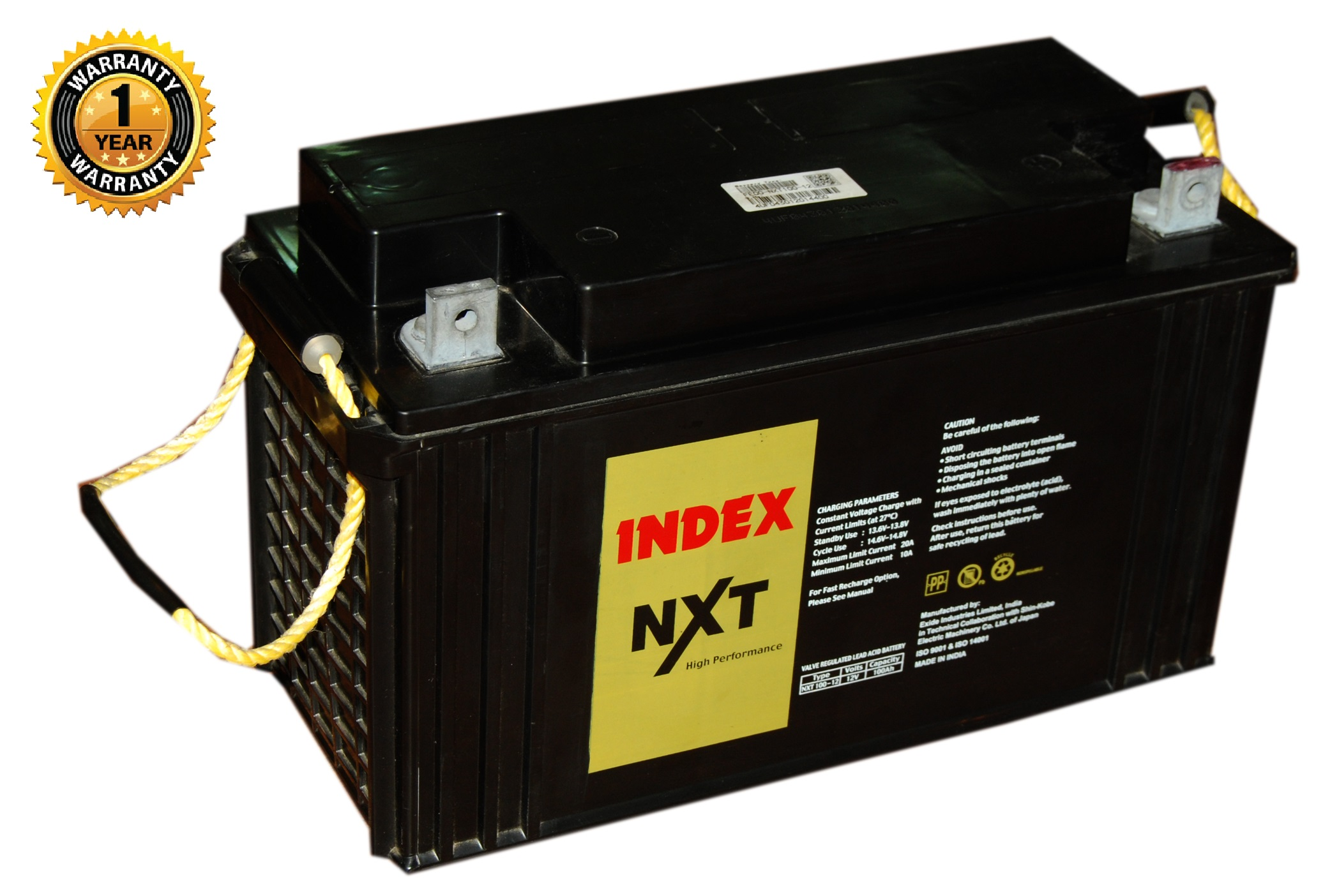 Index Nxt Exide 150a 12vbattery Invertermall