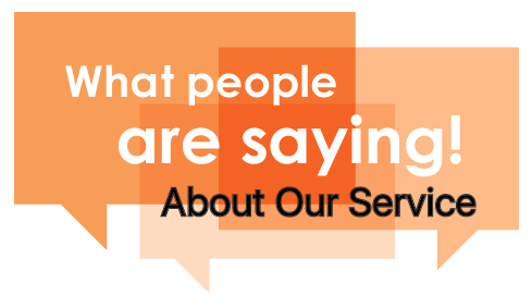 What People Say About Our Service