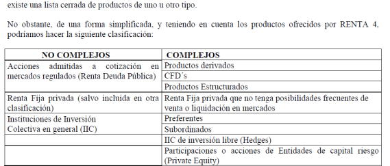 clasificacion-de-los-productos-financieros-510x244% - Consulta : ¿qué es la normativa MIFID?