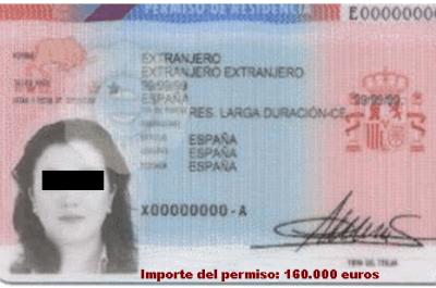 permiso-residencia-250x156% - Ser español cuesta 160.000 euros, baratito oiga