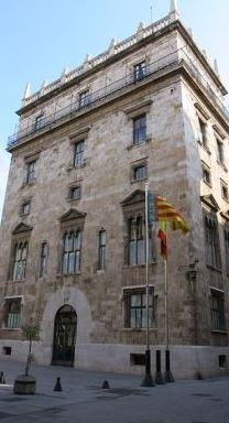 palacio-de-la-generalitat-valenciana% - Las largas vacaciones NAVIDEÑAS de algunos políticos...